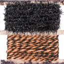 TH93608 Tim Holtz® Idea-ology™ Trimmings 6yd 2/Pkg Black & Orange